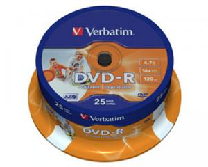 Verbatim DVD-R 4,7GB 25er Pack (Wii, PS2, Xbox)