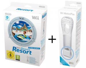 Wii Sports Resort + Wii Motion Plus Remote Erweiterung